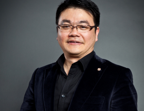 Tencent's senior VP S.Y. Lau.