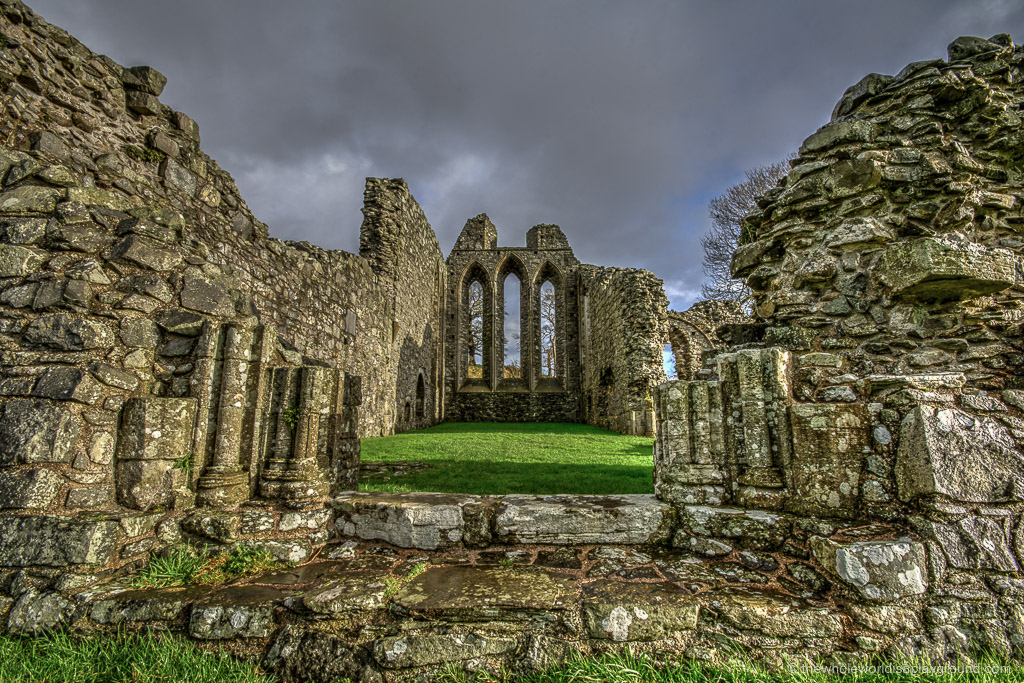 Inch Abbey was where Robb Stark was proclaimed as the King of North.