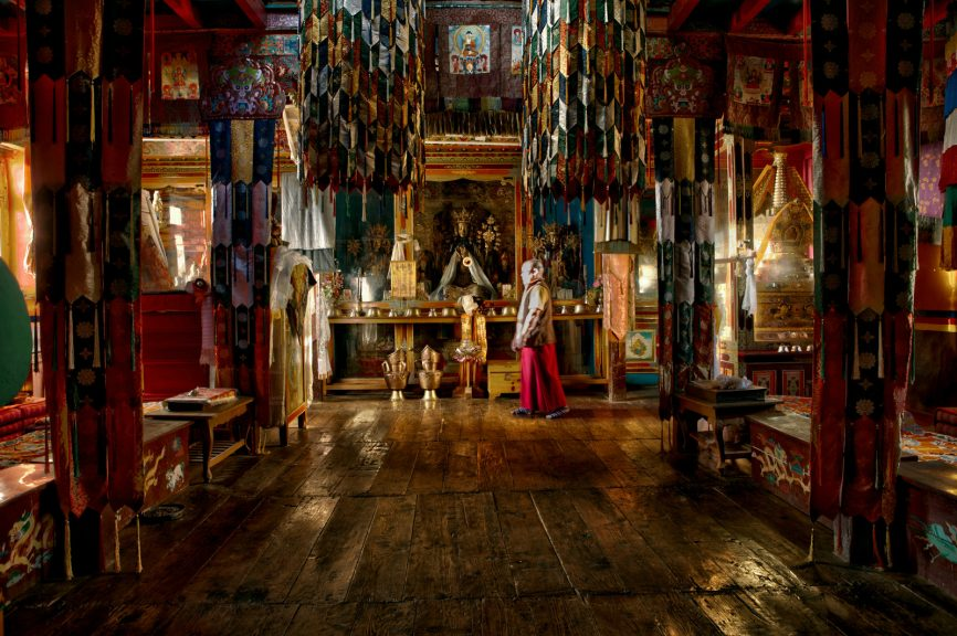 The Tangyud Monastery in Spiti.