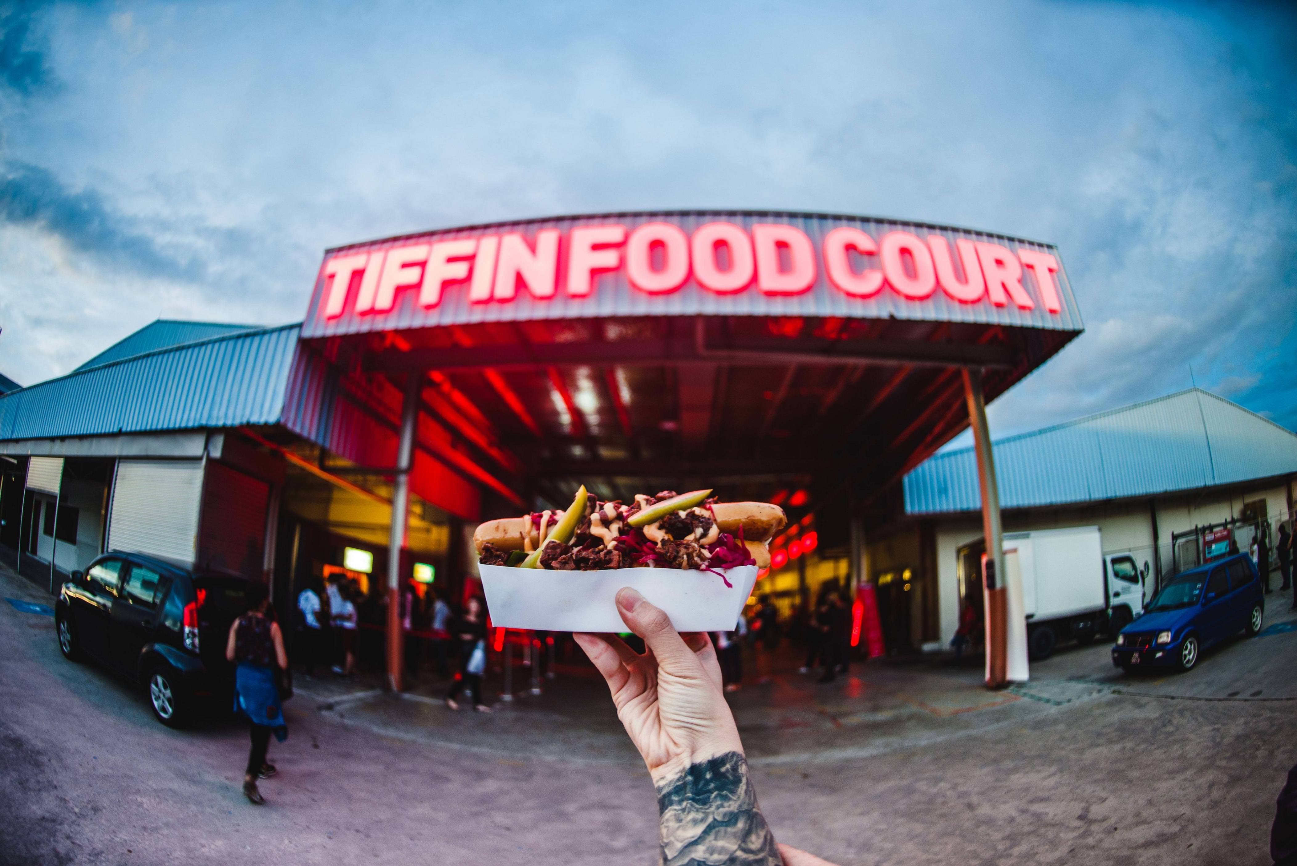 Image from Tiffin Food Court