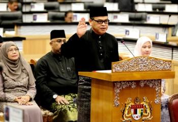 YB Senator Datuk Hanafi Mamat