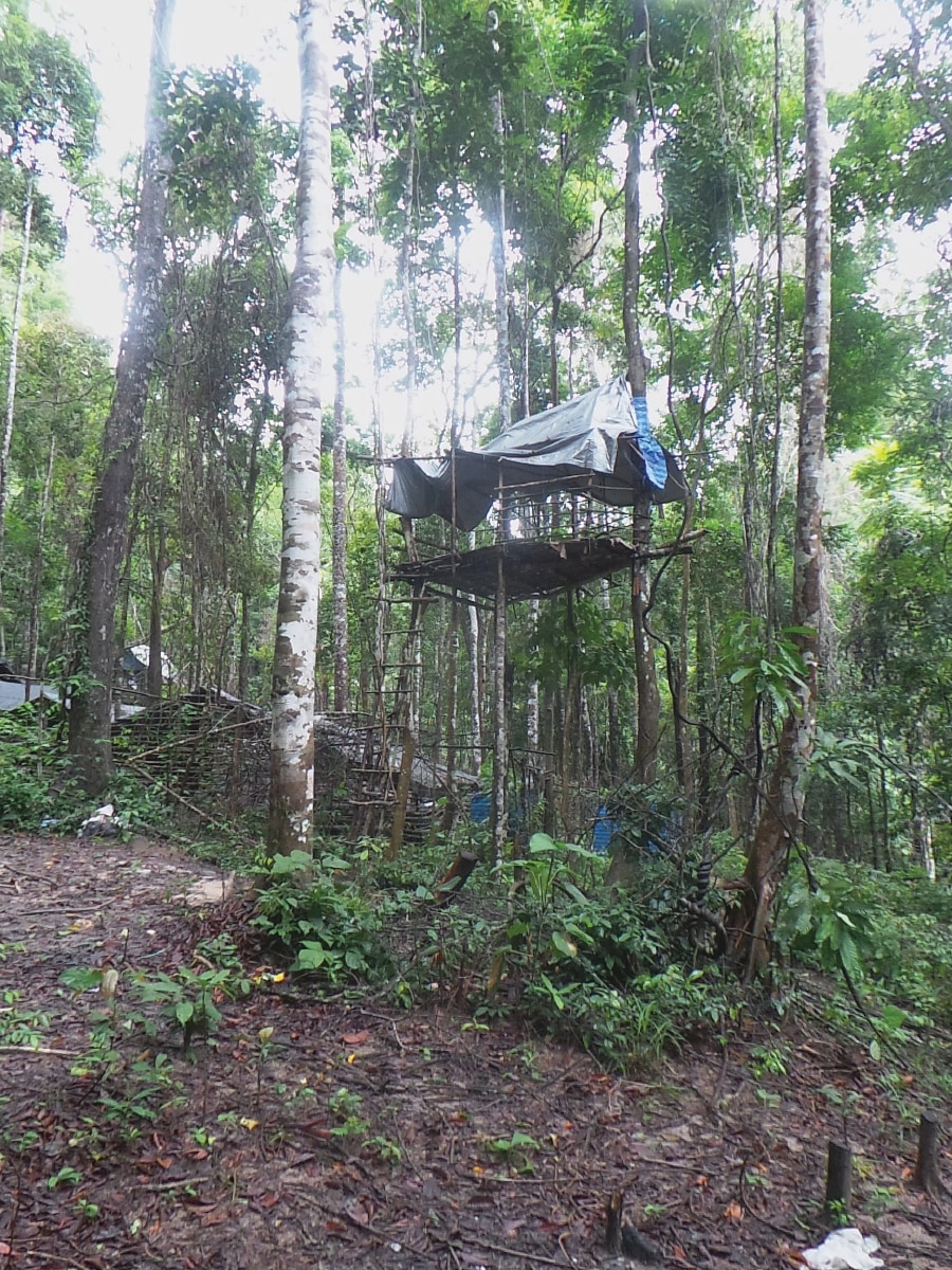 The Wang Kelian campsite.