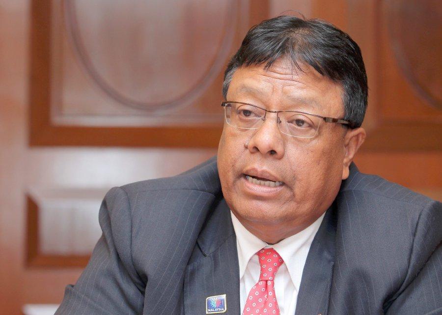 Public Service Department Director-General (D-G) Tan Sri Zainal Rahim Seman
