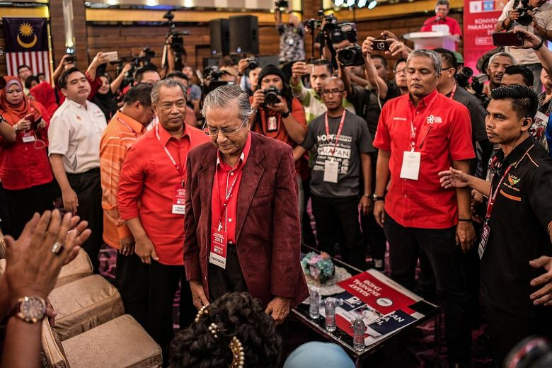 Former Malaysian prime minister Mahathir Mohamad will be one of the world's oldest leader if he wins GE14.