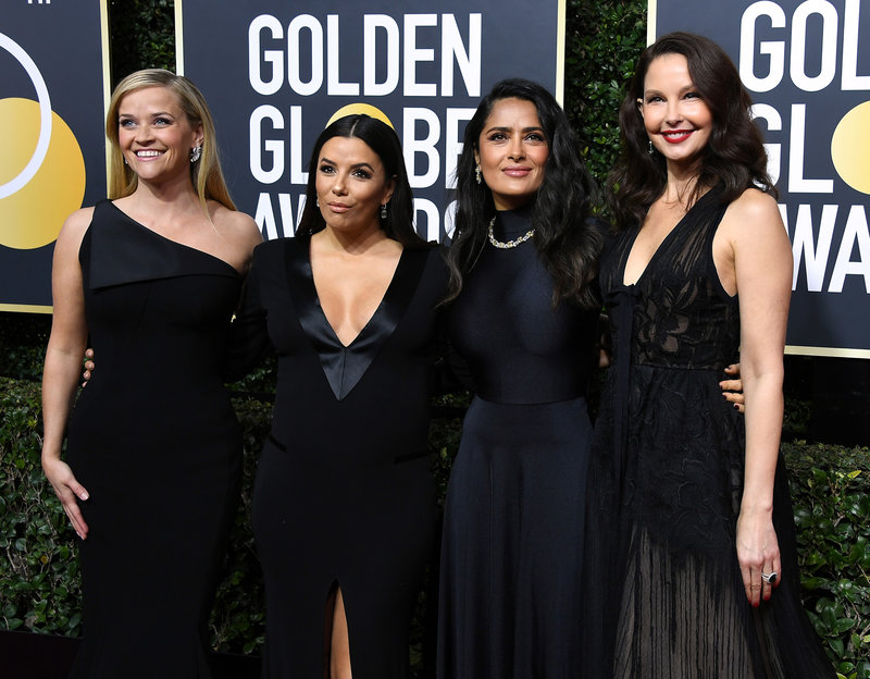 From left: Reese Witherspoon, Eva Longoria, Salma Hayek, and Ashley Judd.