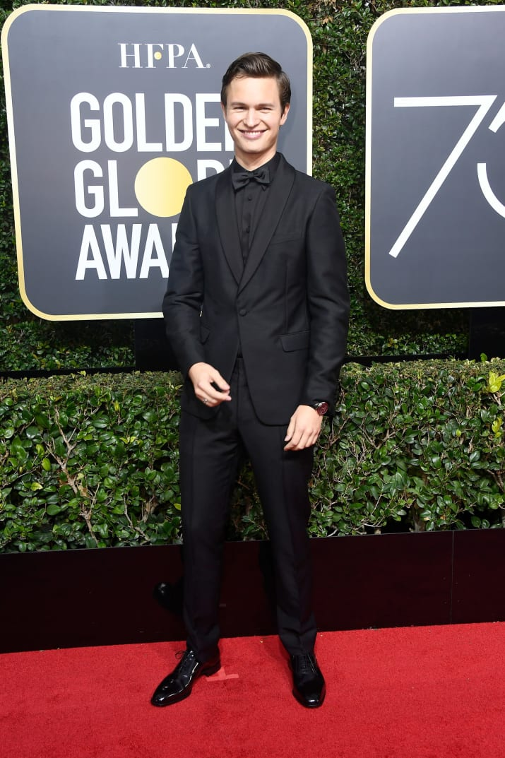 'Baby Driver' actor Ansel Elgort.