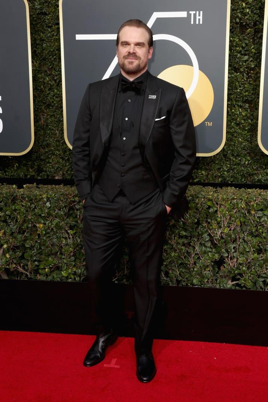 'Stranger Things' actor David Harbour.