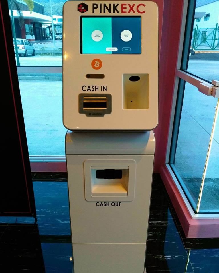 A digital currency company has installed malaysias first bitcoin image via pinkexc m sdnd ccuart Images