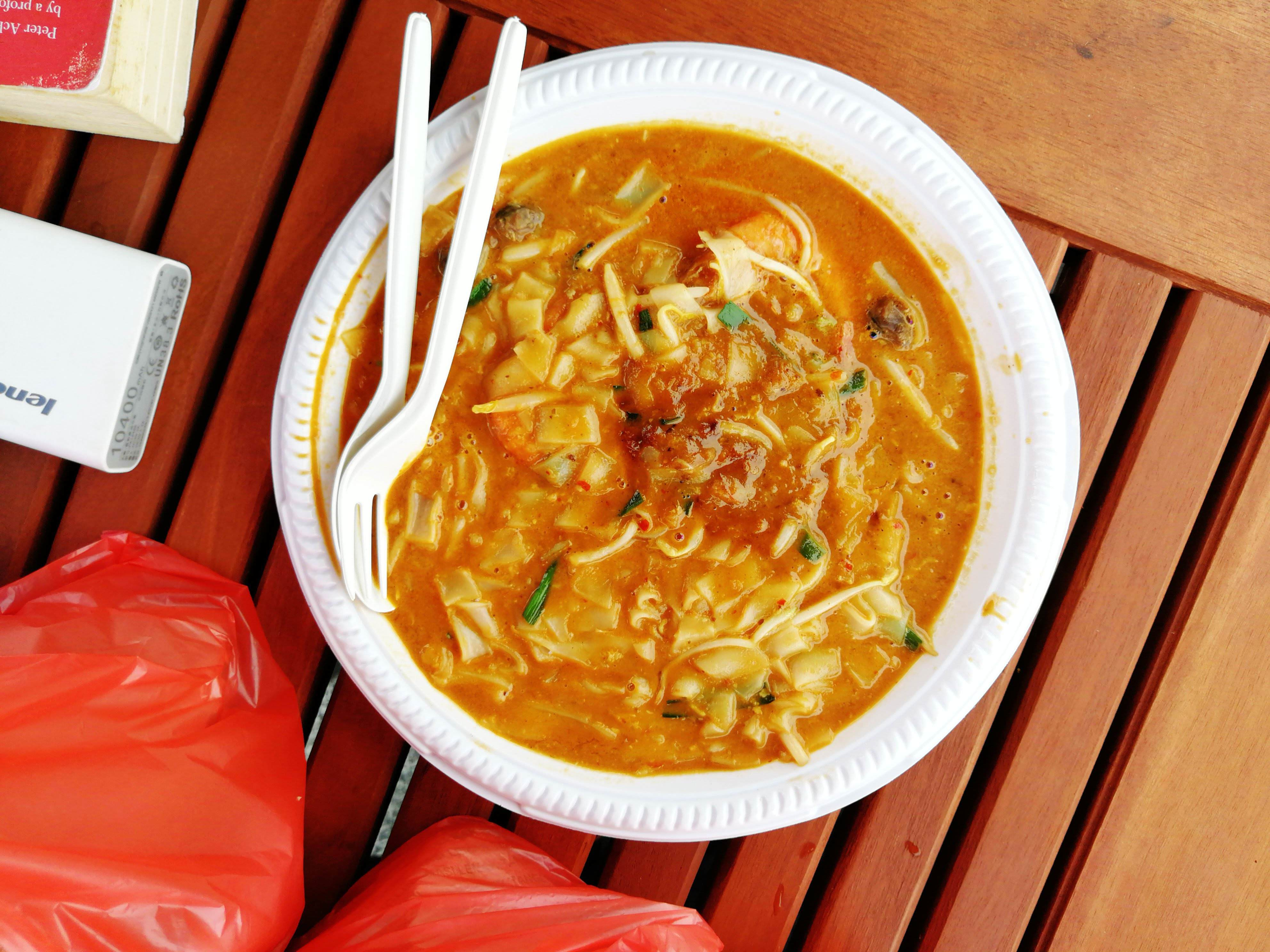 Char kway teow from Mie Cord.