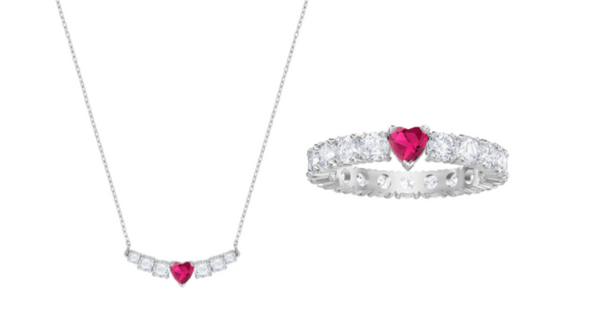 Love necklace - RM549, Love ring - RM499