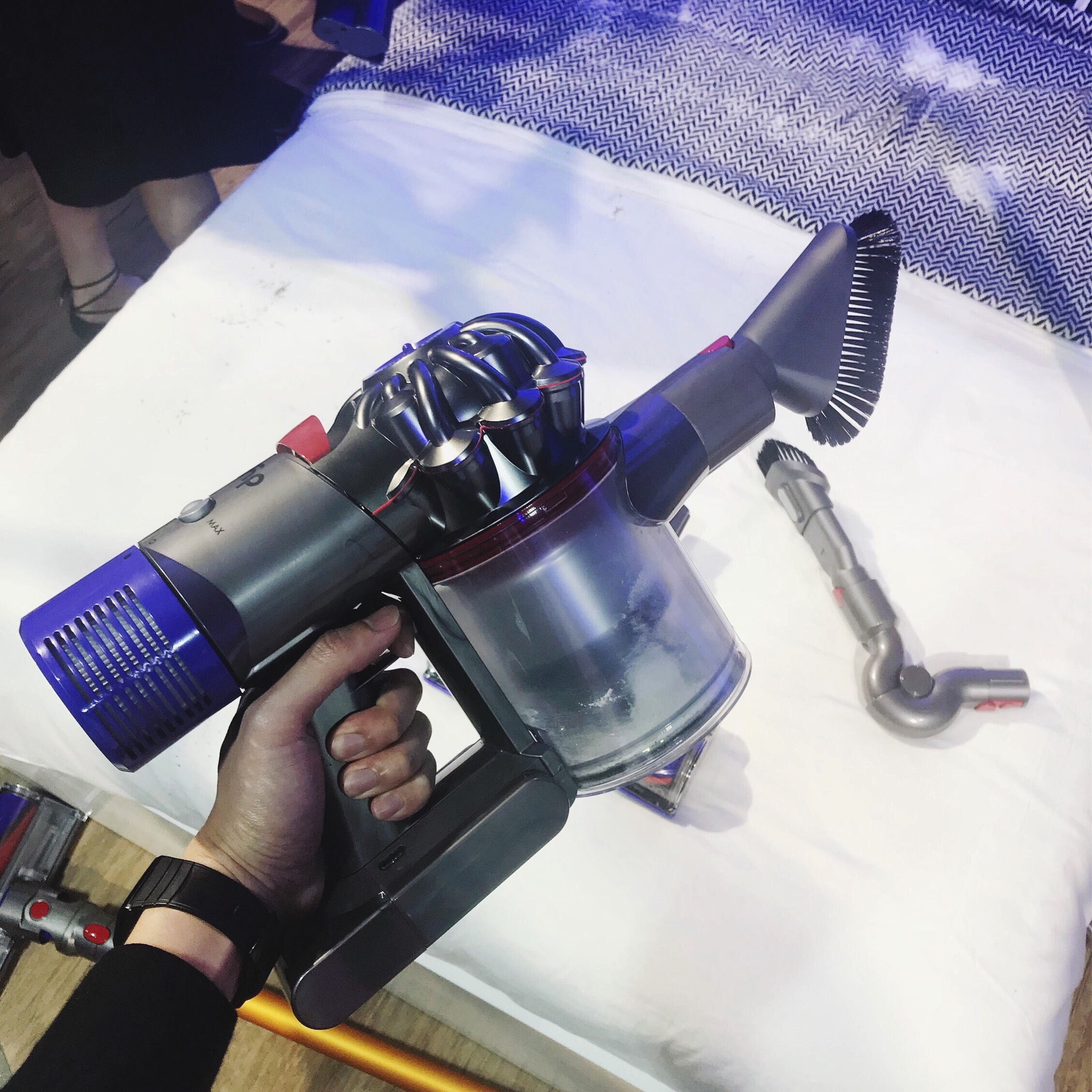 See The New Dyson Vacuum Cleaner We Flew To Bangkok For