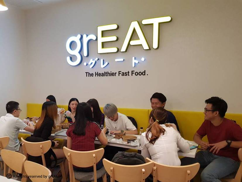 Image from Great - the Healthier Fast Food/Facebook