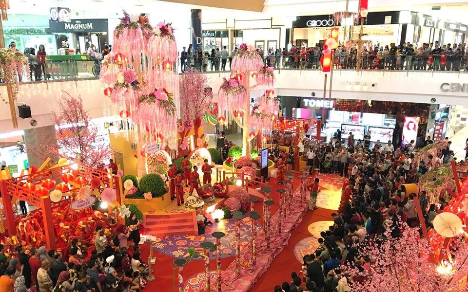 Image from IOI City Mall Facebook