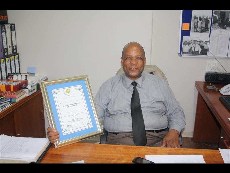 Lieutenant Colonel Moatshe Ngoepe