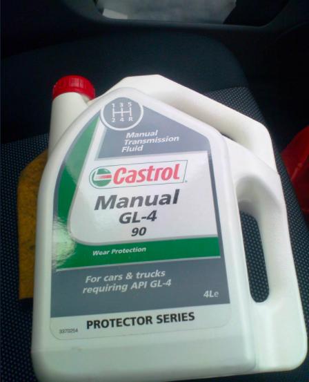 Minyak Manual Transmission Fluild (untuk gear manual)