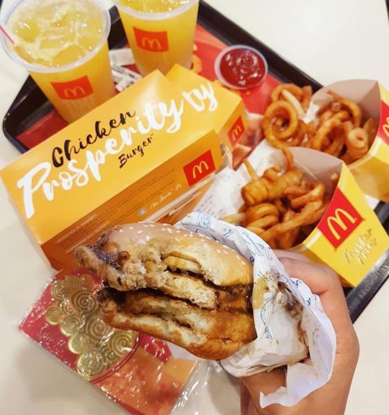 即日起至2月28日【麦当劳汉堡 RM1 促销】包括Prosperity Burger Fish!还免费送到你家!