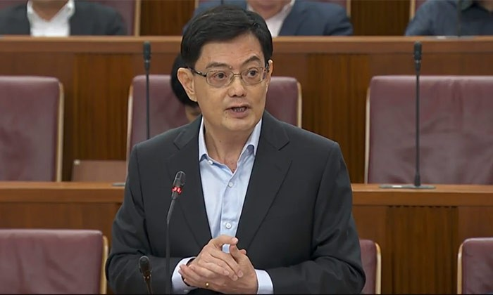 Singapore's Finance Minister, Heng Swee Keat.