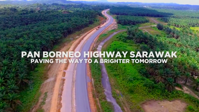 Image from Pan Borneo Highway Sarawak/Youtube
