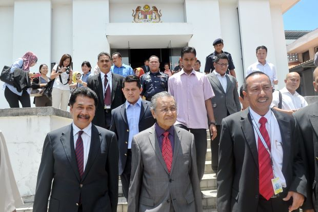 Dr M blames it on low ranking officers.
