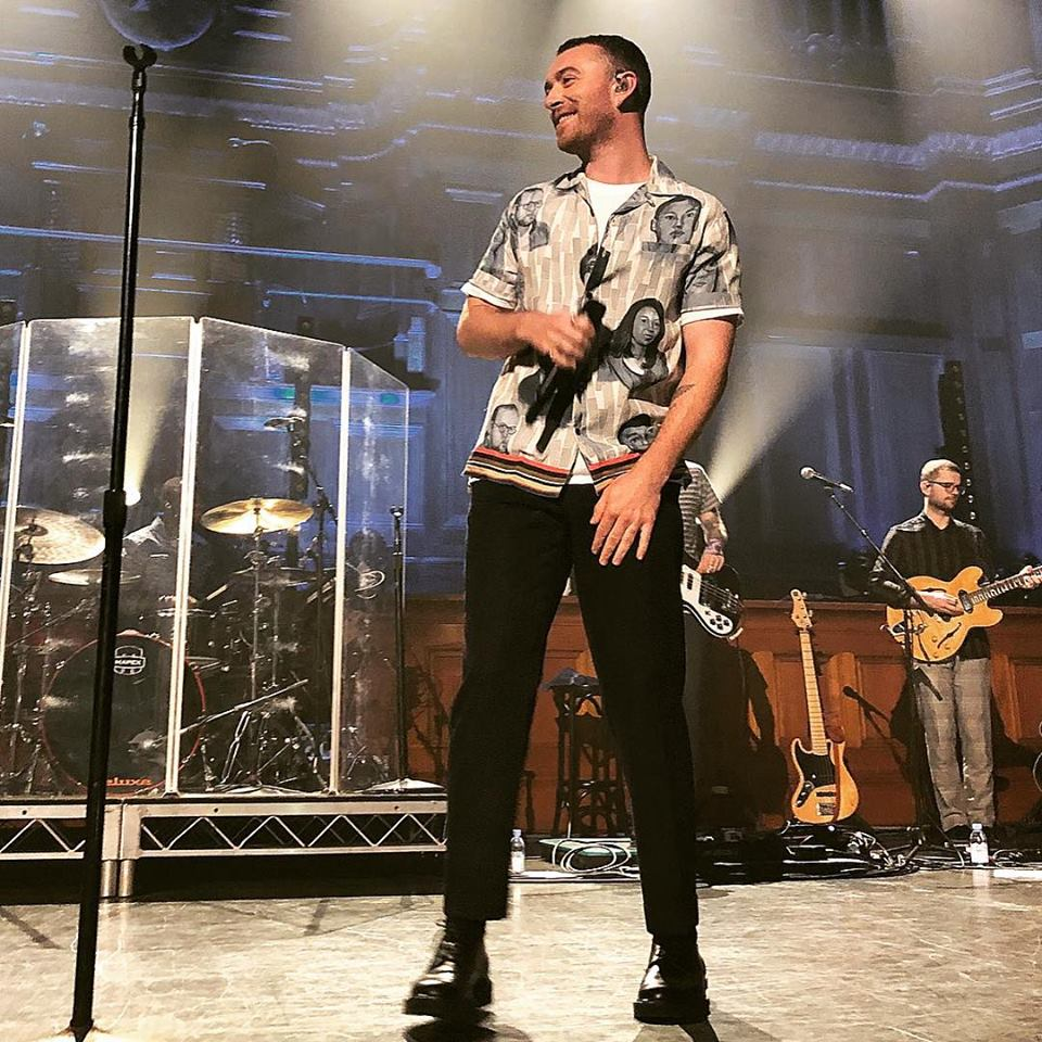Image from SAM SMITH Facebook