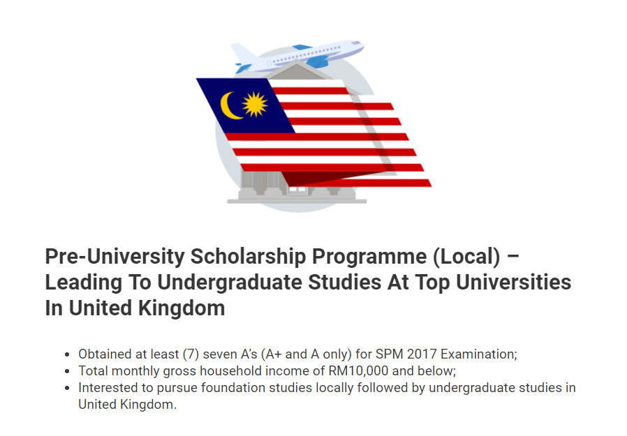 17 Full Scholarships To Local & Overseas Universities You
