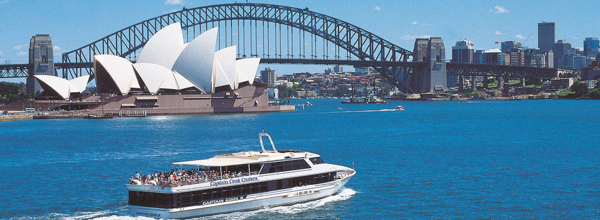 Image from Captain Cook Cruises