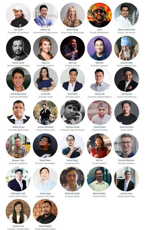 Image from Cyberjaya Startup Summit