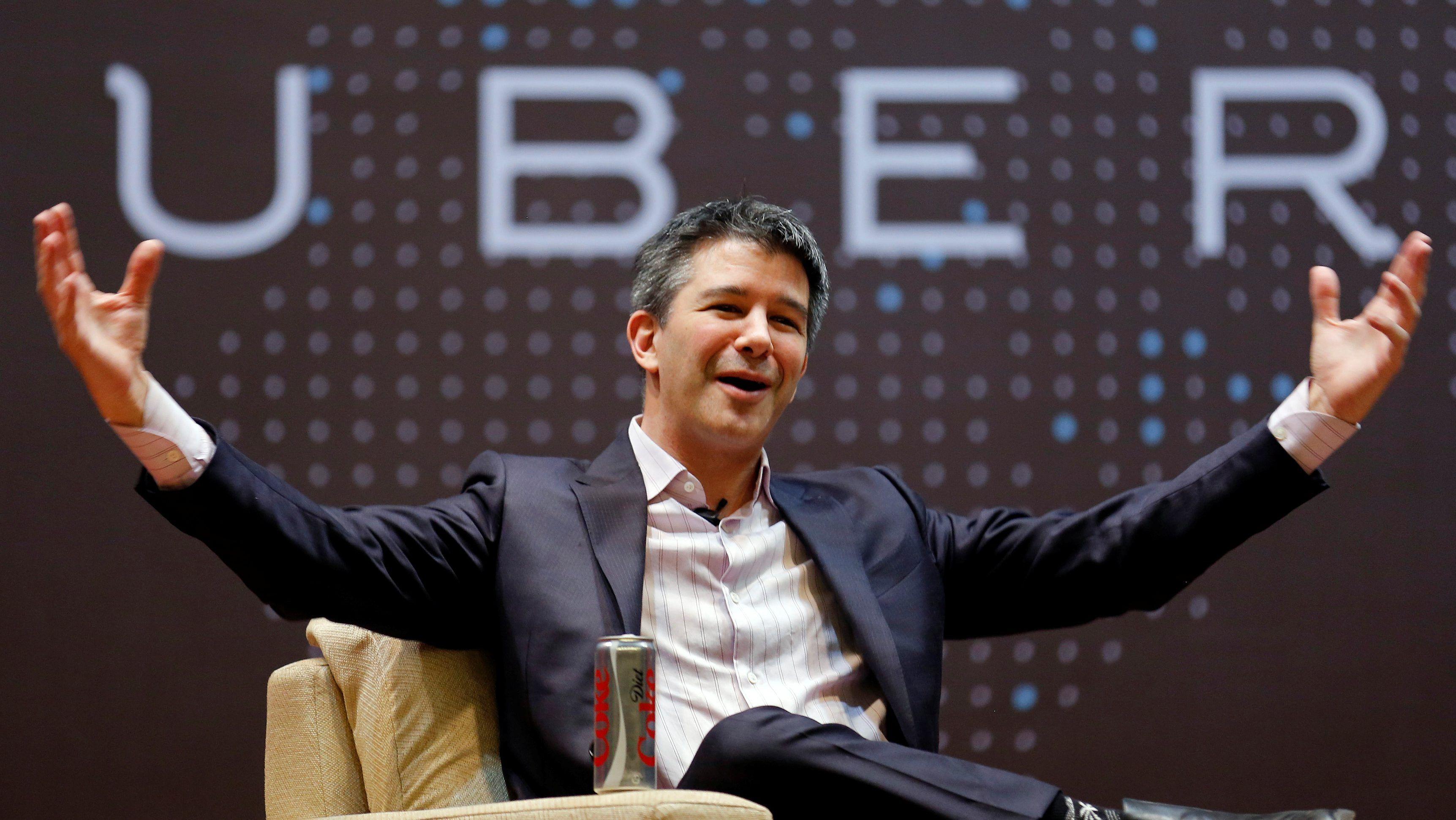 Travis Kalanick, former CEO of Uber.