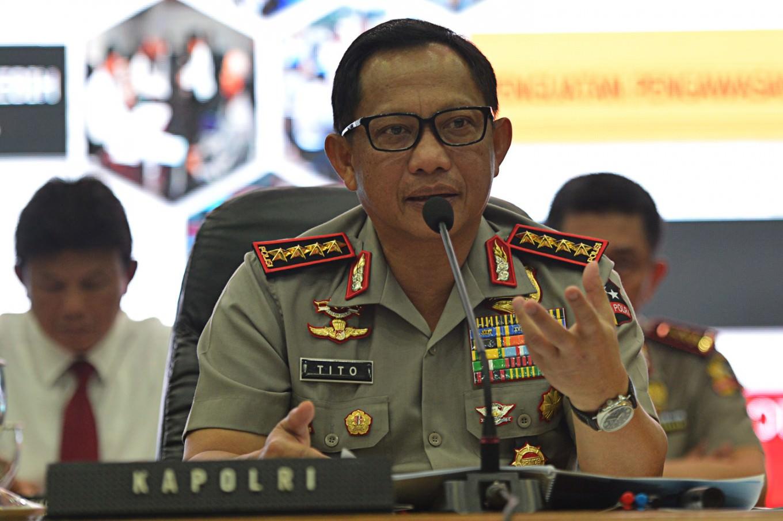 Indonesian Police Chief Gen. Tito Karnavian.