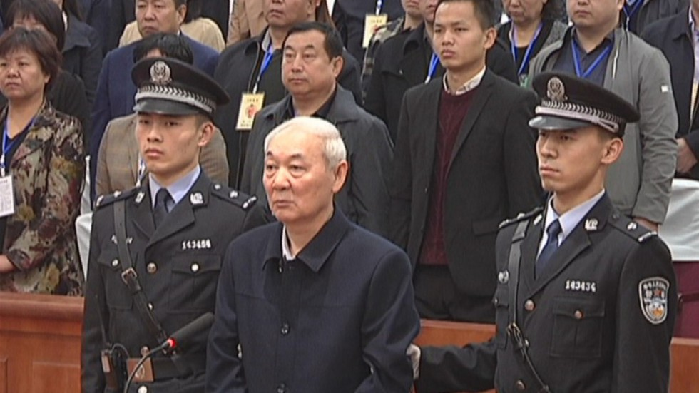 Zhang Zhongsheng in centre