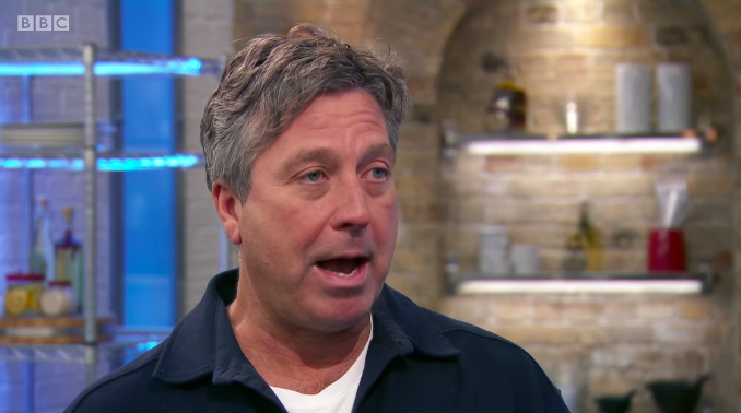 John Torode was commenting on how Zaleha's nasi lemak and chicken rendang should turn out to be.