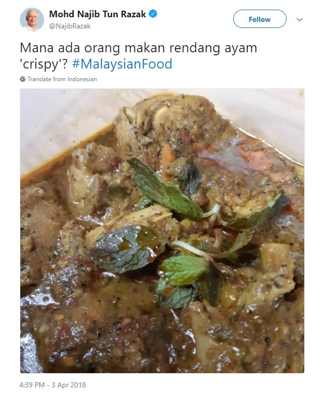 Image from Najib Razak via Twitter