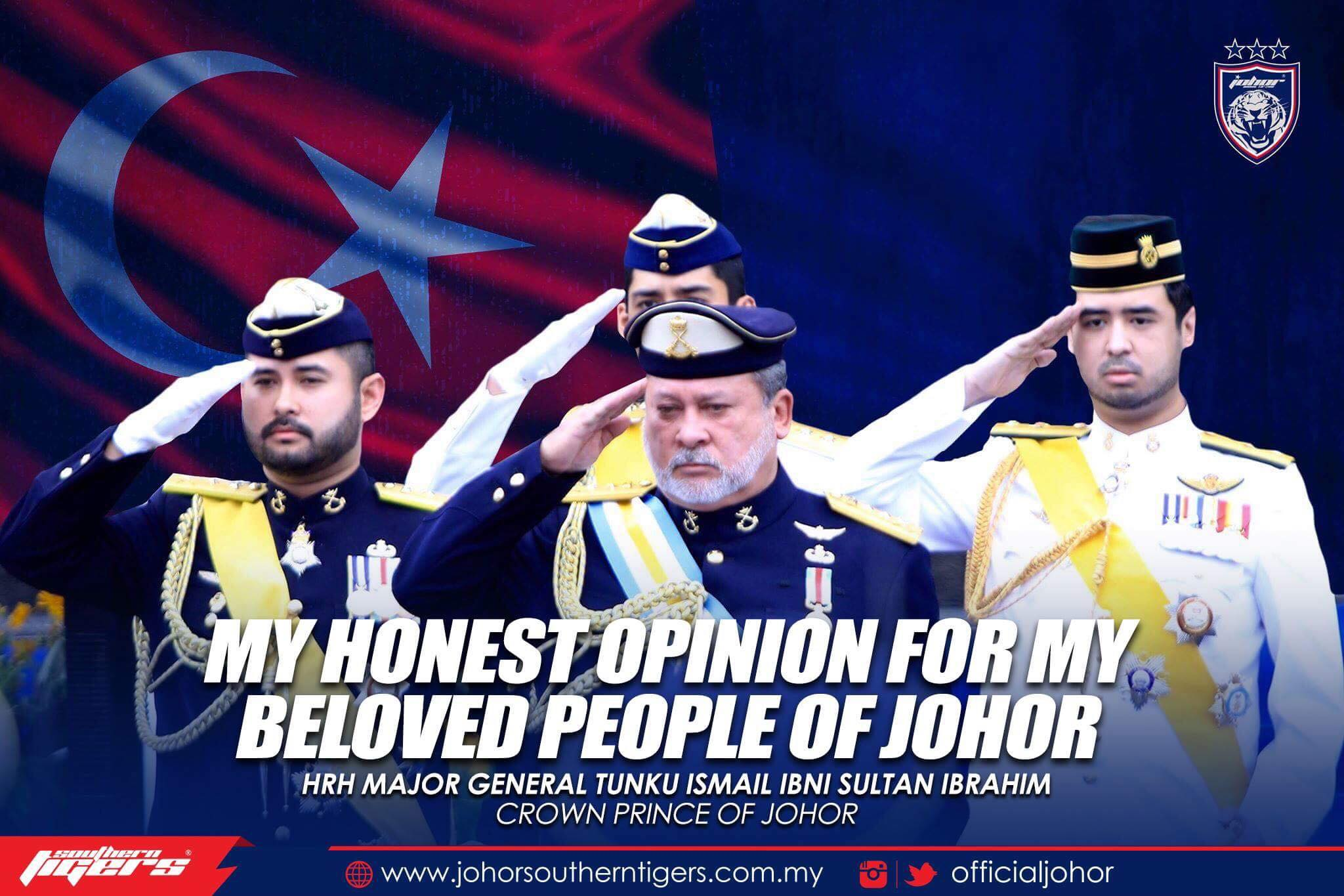 Image from JOHOR Southern Tigers