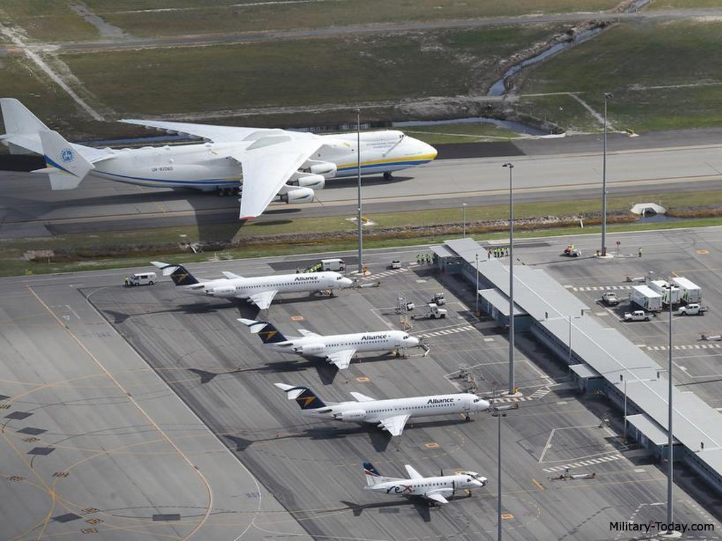 Take A Look At The World's Largest Aircraft That Landed In ...