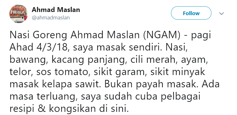 Image from Ahmad Maslan via Twitter