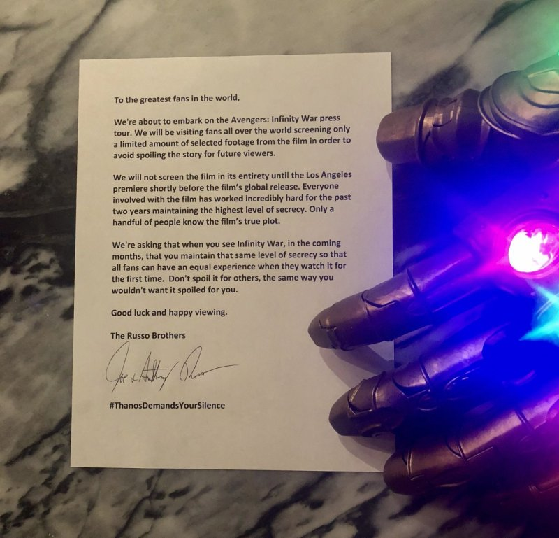 Image from Twitter @Russo_Brothers