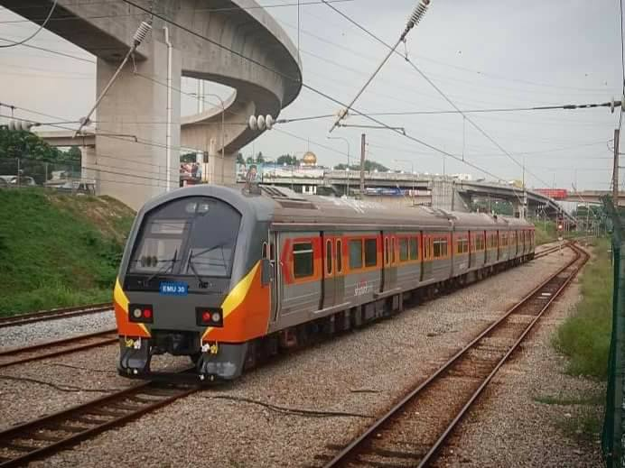 New trains for the KL Sentral-Subang Skypark link.