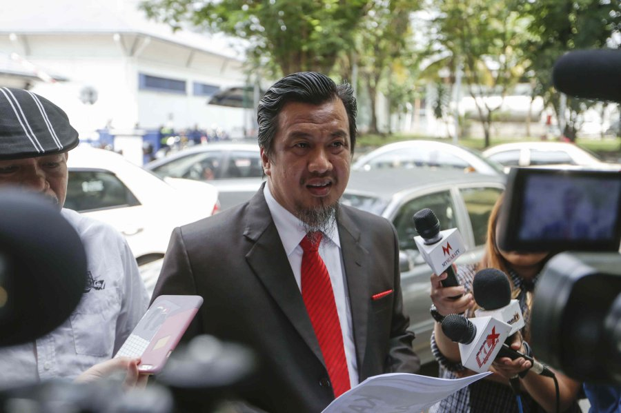 UMNO Grassroots Movement chairman Datuk Zulkarnain Mahdar.