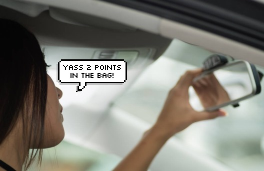 Image from Driving Tests edited by SAYS
