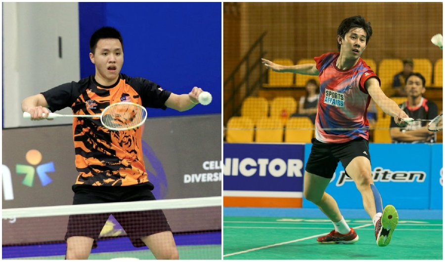 Tan Chun Seang (right) and Zulfadli Zulkiffli have been slapped with lengthy bans by the BWF.