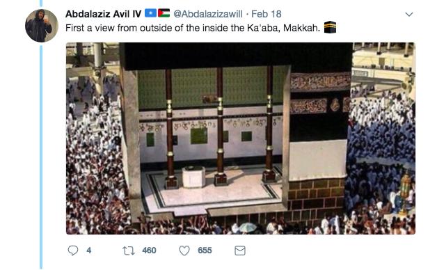 Image from Twitter @Abdalazizawill