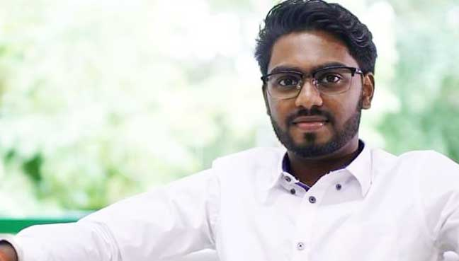 P Prabakaran, a law student, is the youngest candidate to contest in GE14.