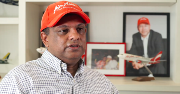 Image from Tony Fernandes/Facebook