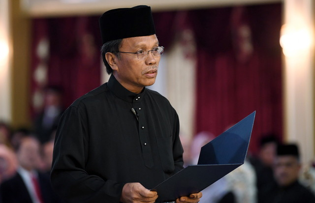 Datuk Seri Mohd Shafie Apdal was sworn in as CM of Sabah on Sunday, 13 May.