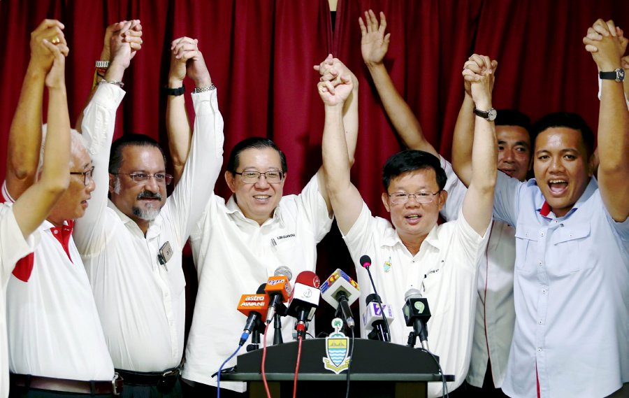 Pakatan Harapan (PH) Penang chairman Lim Guan Eng named Chow Kow Yeow as the state's fifth chief minister yesterday.