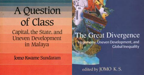 Two of Jomo's written works.