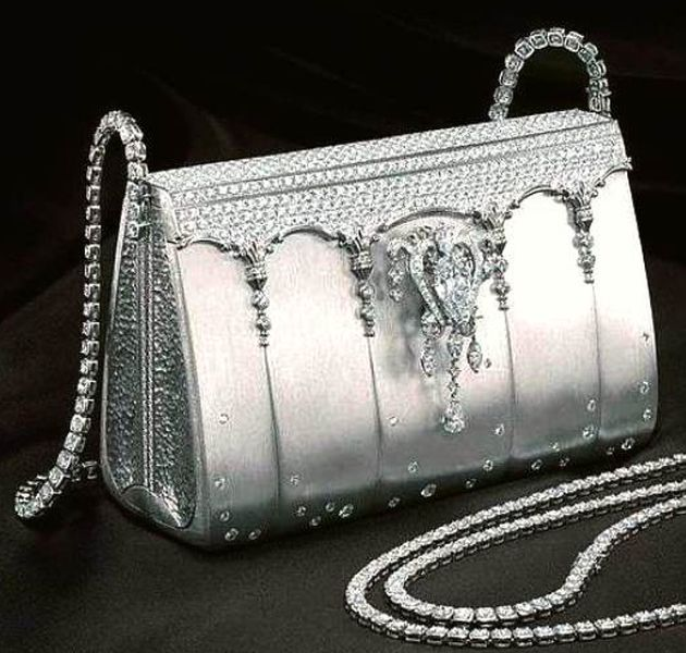 This Birkin made of 100% platinum was created by Japanese designer Ginza  Tanaka. fe0b0cd76c8a1