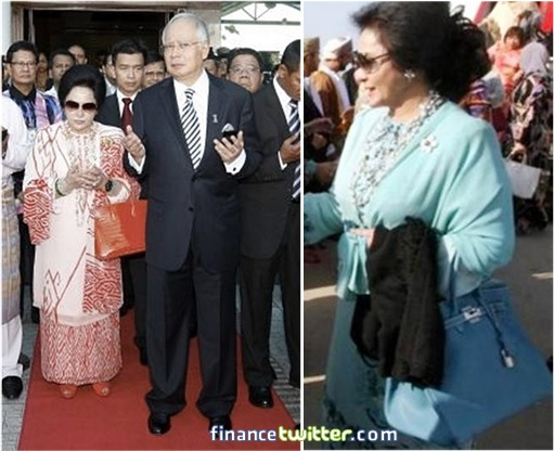 Sources show that Rosmah owns quite a few of her own.