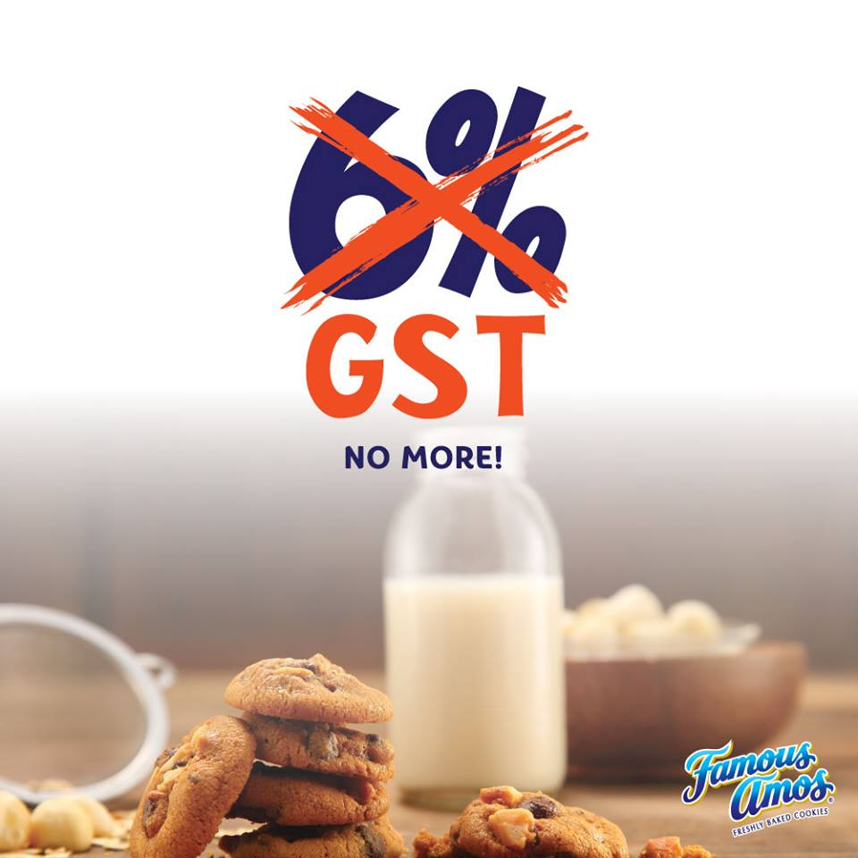 Image from Famous Amos Malaysia