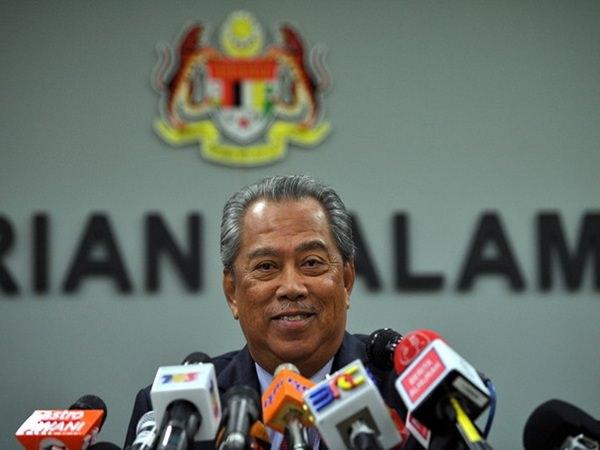 Home Minister Tan Sri Muhyiddin Yassin